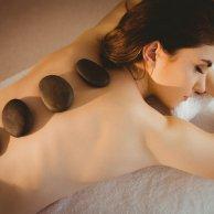 Sauna entree met een HOT STONE lichaamsmassage - 25min