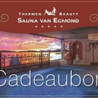 Sauna Kadobon 75 euro