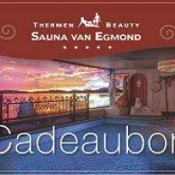 Kadobon Sauna entree inclusief uitgebreide lunch voor 2 personen